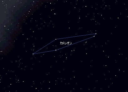 カメレオン座 Chamaeleon / 星座