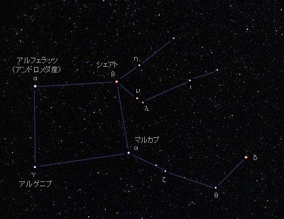 ペガスス座 Pegasus / 星座